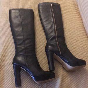 Micheal Kors Platform Boots